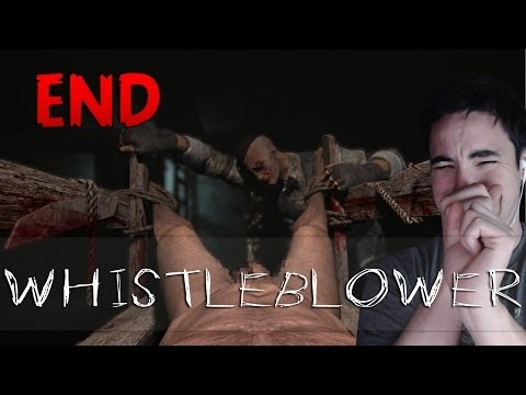 Outlast Whistleblower DLC - Part 4 END - PENIS MUTILATION + ENDING CUTSCENE (Uncensored)