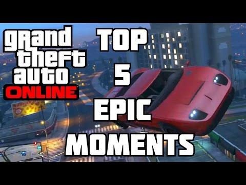 GTA 5 Top 5 Epic Moments GTA V Random Moments