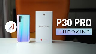 Huawei P30 Pro Unboxing