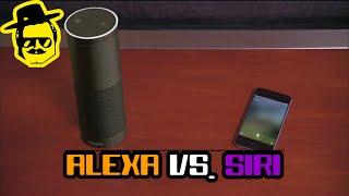 """Новый голосовой помощник """"Alexa"""" против """"Siri""""  [McElroy]"""