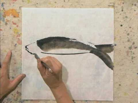 Chinese Watercolor Techniques with Lian Quan Zhen - YouTube