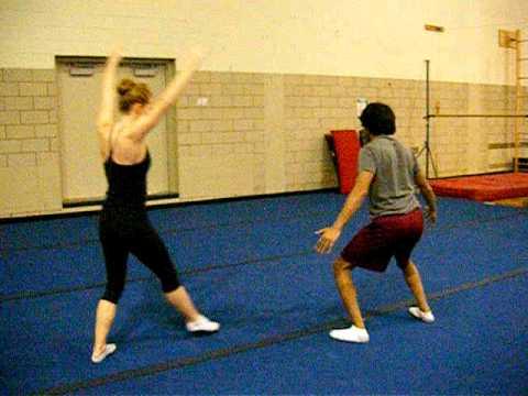 Partner Stunts For Beginners Beginner Partner Gymnastics