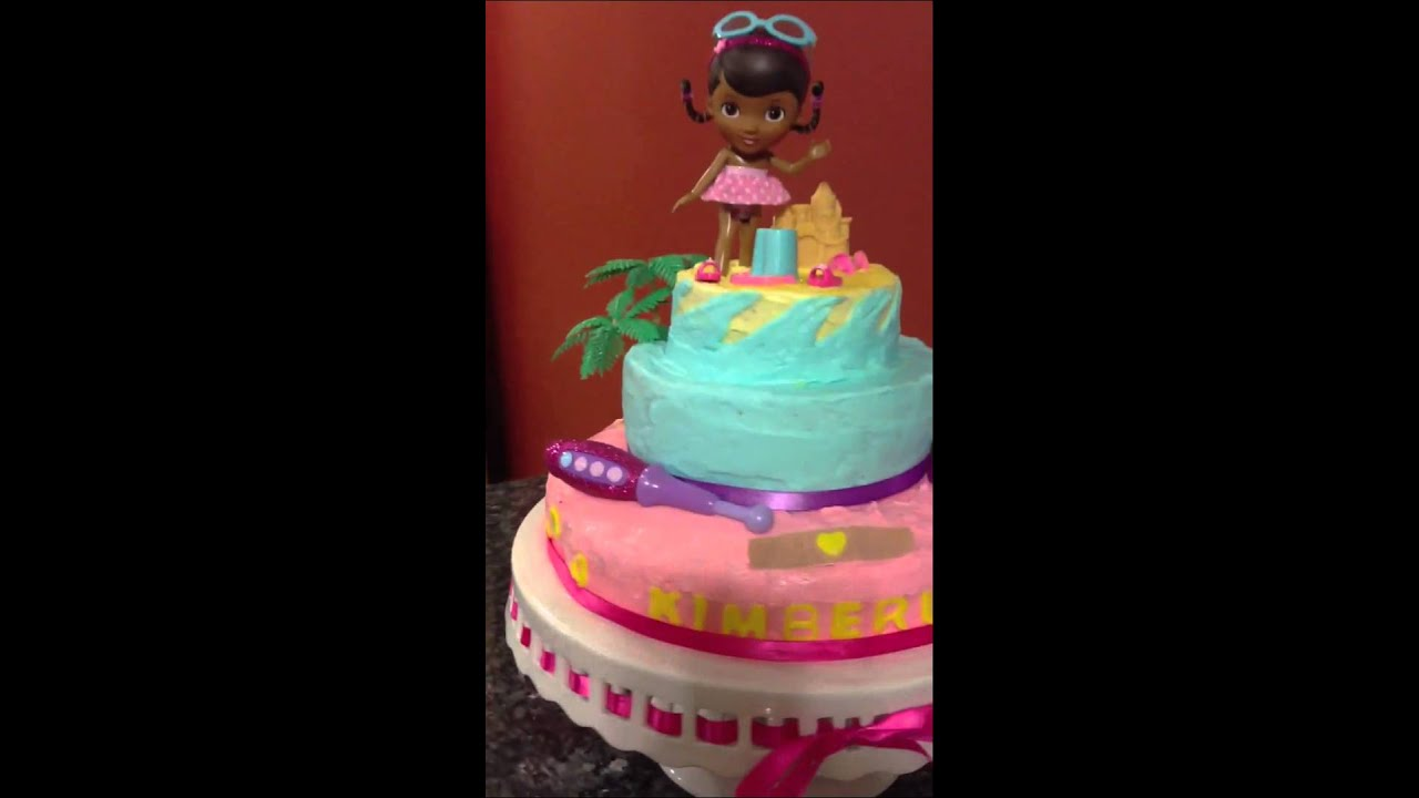How To Make Doc Mcstuffins Cake