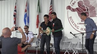 IBHOF presents Erik Morales and Marco Antonio Barrera