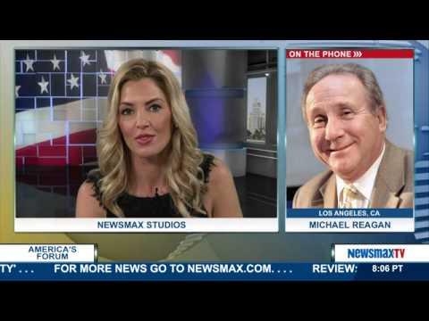 America's Forum | Michael Reagan Conservative political commentator |pt1