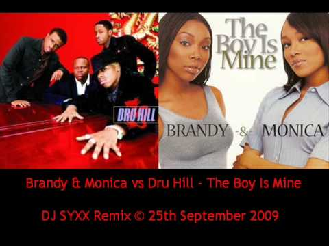 Brandy & Monica vs Dru Hill (So So Def) - The Boy Is Mine (DJ Syxx Remix) Music Videos