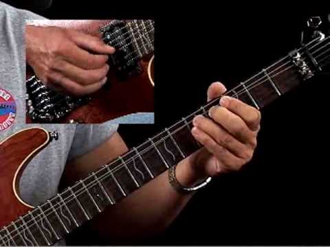How to Play Guitar Like Tommy Bolin - Example 1a - Guitar Lessons