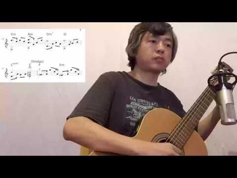 我要你 电影《驴得水》主题曲 指弹吉他版 附乐谱 师勇