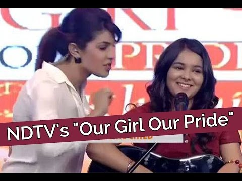 NDTVs Our Girl Our Pride - Shraddha Sharmas First LIVE Performance...