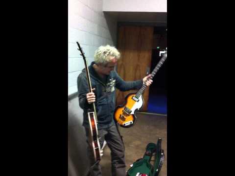 Glen Burtnik Checks Out My Bass