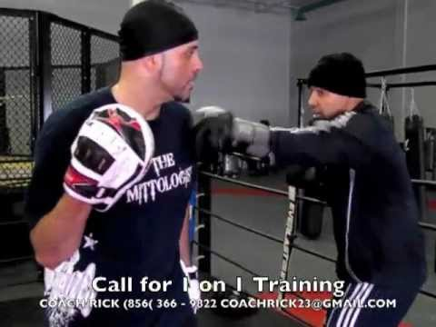 Coach Rick: Unique Boxing Training Focus Mitt Padwork 4 Pro or Amateur Fighters Fitness Enthusiasts Image 1