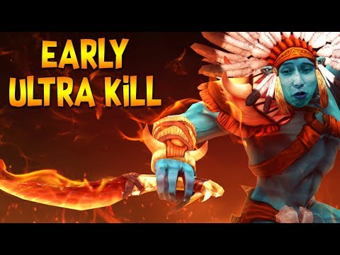 TOO EARLY ULTRA KILL ◄ SingSing Dota 2 Moments