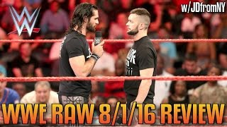 WWE Raw 8/1/16 Review: Randy Orton Strikes Brock Lesnar With An RKO, Seth Rollins & Finn Balor
