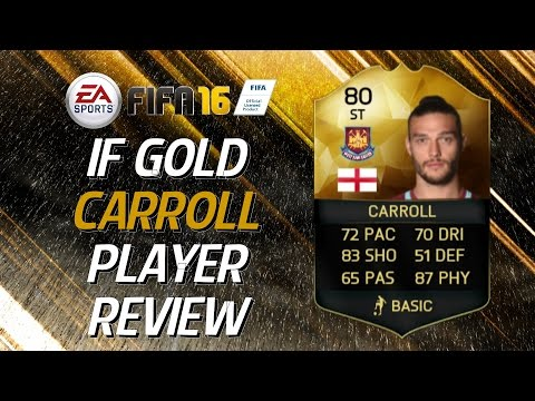 FIFA 16: IF Carroll (80) Player Review + In Game Stats