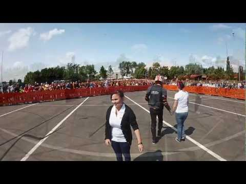 Rok Bagoros stunt show 2012 @ Krcher Factory - GoPro HERO2