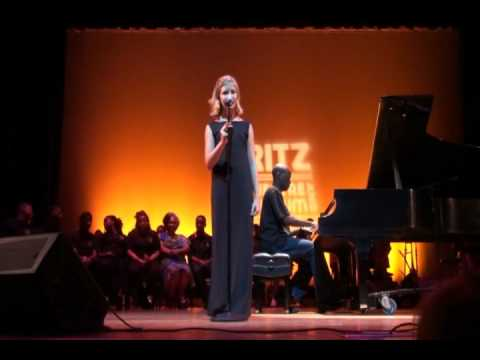 Michaela Rowe singing  At Last (Etta James) Ritz Theatre June 2011
