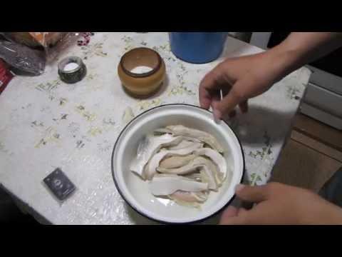 Как засолить брюшки - видео