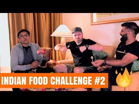 The Indian Food Challenge Ft. Unbox Therapy & Chyawanprash Part #2