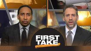 Max asks Stephen A. if Kevin Durant