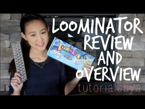 NEW Loominator Review / Overview / Unboxing Video   Rainbow Loom   TutorialsByA