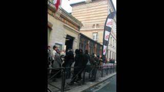 Casting anges anonymes Paris