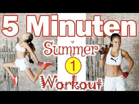 Ultimatives 5 Minuten Workout - SOS Summer Shred - Fettverbrennen leicht gemacht
