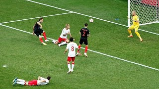 Croatia knocks Denmark out of the World Cup winning 3-2 on penalties