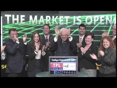 Tethys Petroleum Ltd. (TPL:TSX) opens Toronto Stock Exchange. December 7, 2012.