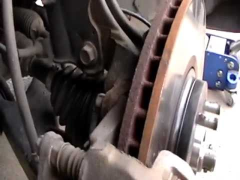 2004  How to change a Nissan Murano Hub assembly