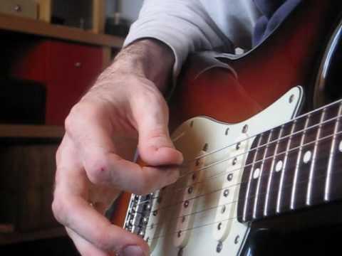 Clases de Guitarra (i-4) Rock & Roll para Muñones: Arpegios