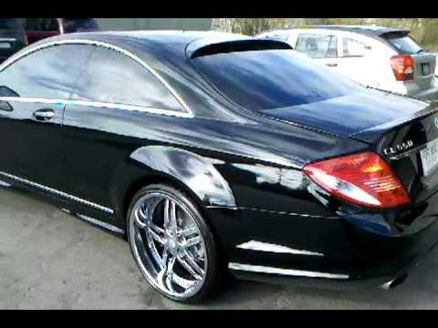 Mercedes Benze Cl 500 On 22 Quot Asanti Wheels Youtube