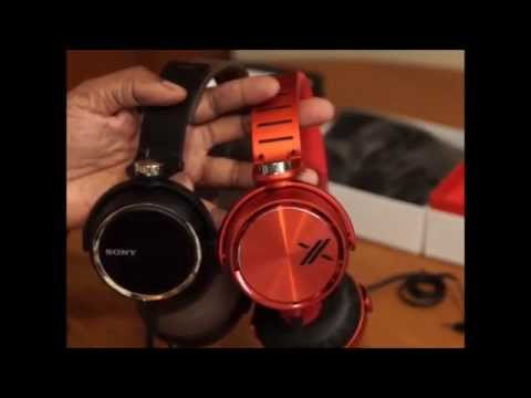 SONY XB 600 vs. SONY MDR-X05 HEADPHONES
