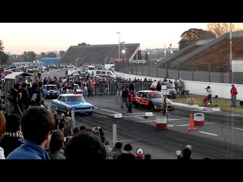 Master 1/4 Milla Chevrolet 400 VS Ford Falcon DTC