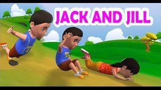 Jack and Jill | Nursery Rhymes | Kids  | 3D Video Rhymes| gupthaskids