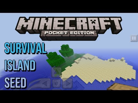 Survival Island SEED - Minecraft Pocket Edition
