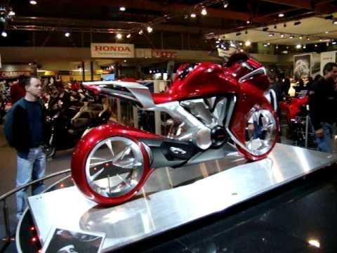 Honda V4 Concept- brussels motor show 2009