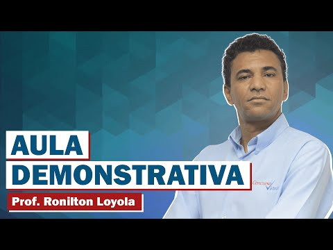 Vídeo 01 - Questões Comentadas de Raciocínio Lógico da Banca FCC - Prof. Ronilton Loyola