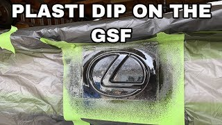 VYNIL, PLASTI DIP OR DEBADGE WHAT TO DO ON THE LEXUS GSF