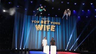 Ellen's New Game, 'You Bet Your Wife'