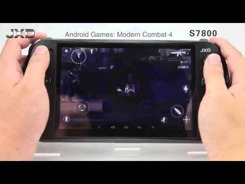 JXD S7800B Consola Android Multiplataforma