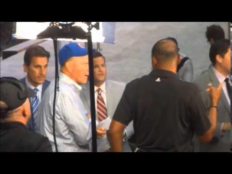 Doc Rivers & Steve Ballmer Talking At Clippers Fan Festival –iFolloSports.com