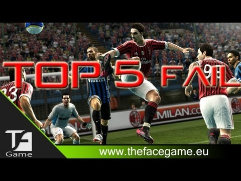Top 5 Fifa 2013 FAIL !