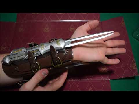 Assassin's Creed Origins Hidden Blade Unboxing