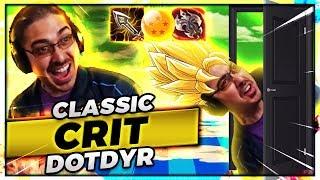 SUPER SAIYAN CRITDYR HARD CARRIES THE GAME!!!! | CLASSIC DOTDYR