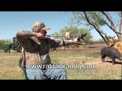 Rattlin' Randy Slingbow PowerBand LBS Test
