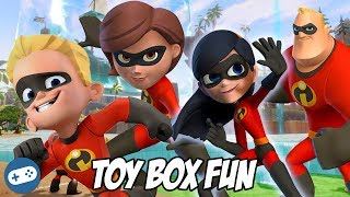 The Incredibles Disney Infinity 3.0 Toy Box Fun Gameplay Part 3
