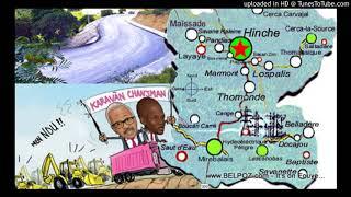 AUDIO: Haiti - Moun Depatman Centre, Bon Nouvel, President Jovenel anonse tout ROUTE ki pwal fet nan Plato a