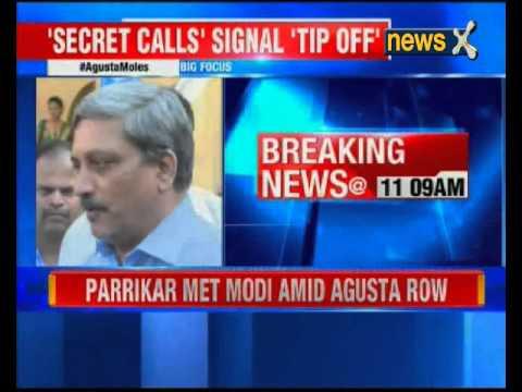 Defence Minister Manohar Parrikar met PM Narendra Modi over AgustaWestland Scam