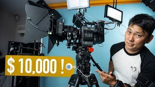 Why this Tripod costs over $10,000!!?