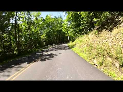GoPro Video Breaking 40 MPH on a Downhill Bicycle Ride